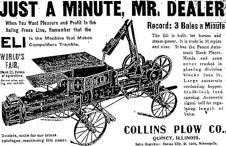 Collins Plow Ad
