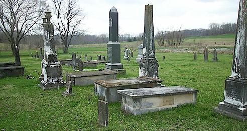 Green lick cemetery