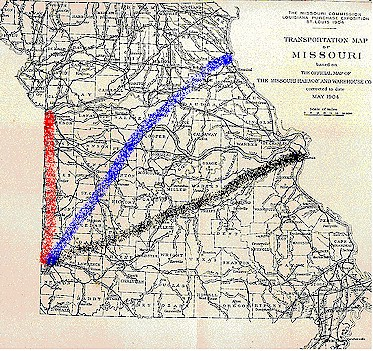 Missouri Cattle Trails on cattle trail history, cattle trail jobs, cattle drive maps, cattle trail clip art, cattle trail names,